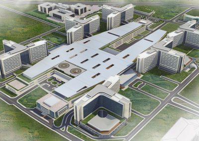 Hospital de la ciudad de Ankara / Bilkent